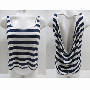 Body Central top Small striped tank open back
